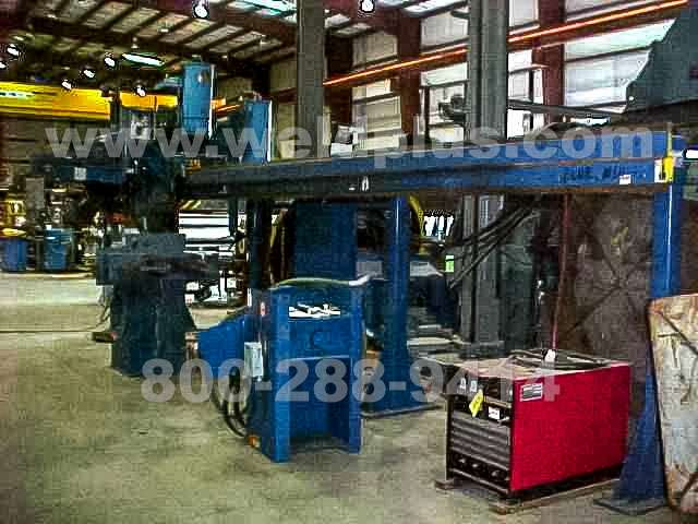 """1998"" Pandjiris Dual-head Beam Welding System"