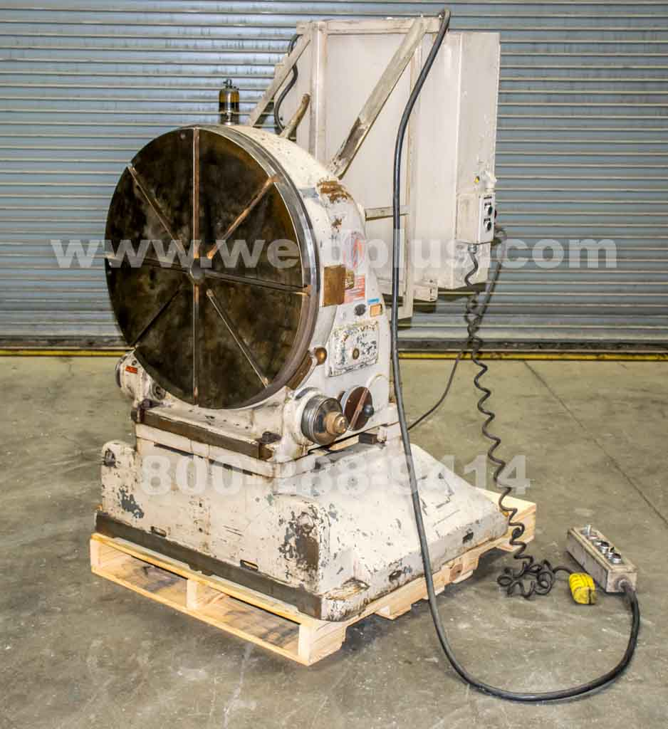 Pratt & Whitney 30 Inch Vertical Rotary Table