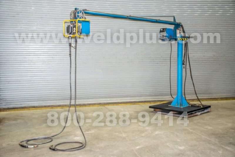Miller Dual Boom Mounted Wire Feeder