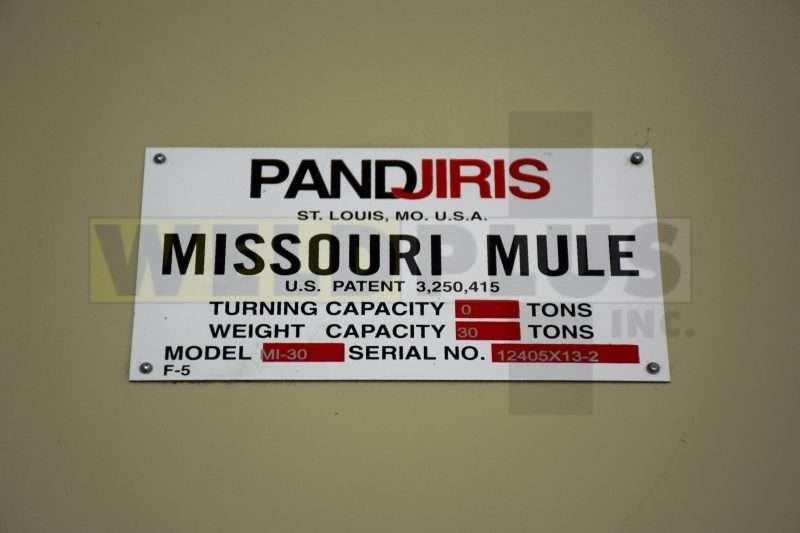 Pandjiris Missouri Mule 60/30 Turning Roll Set