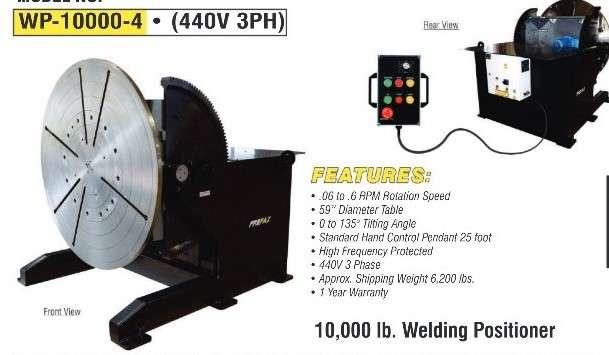 10,000 lb. Profax Positioner WP10000-4