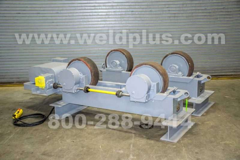 Ransome Model BPRR 60,000 lb. Turning Roll Set