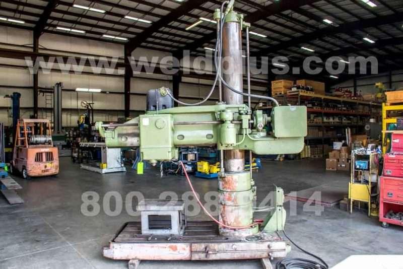 Carlton Power Elevation Radial Arm Drill
