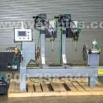 Used Jetline Dual Torch Welding Lathe
