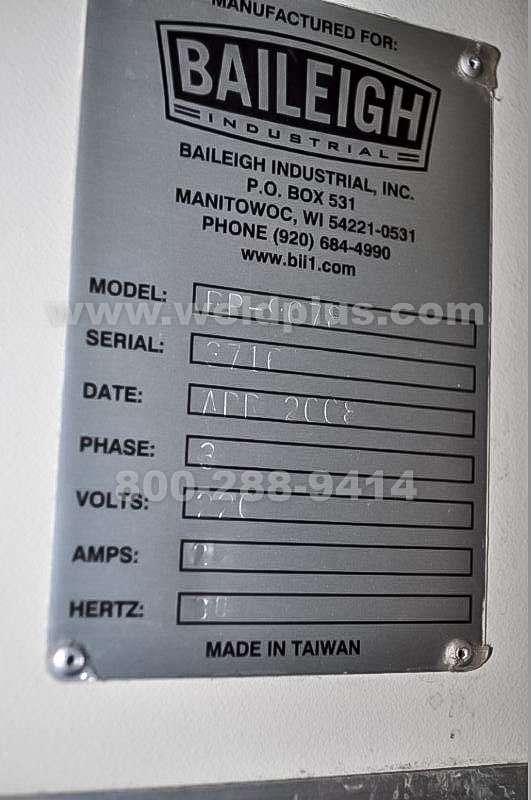 Baileigh 90 Ton Hydraulic Press Brake