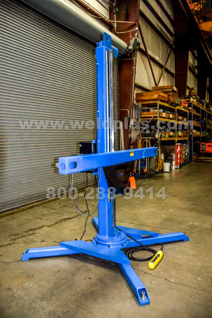 Preston-Eastin 6 by 6 ft. Welding Manipulator