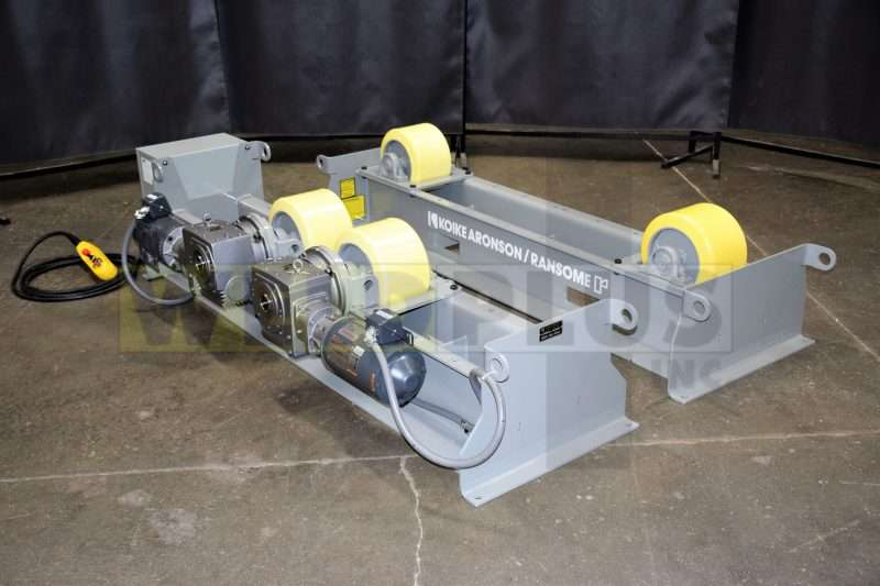 Koike Aronson 40,000 lb. Medium Duty Turning Roll Set
