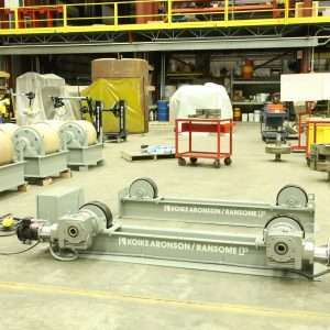 Kioke Aronson 40,000 lb. Medium Duty Turning Roll Set
