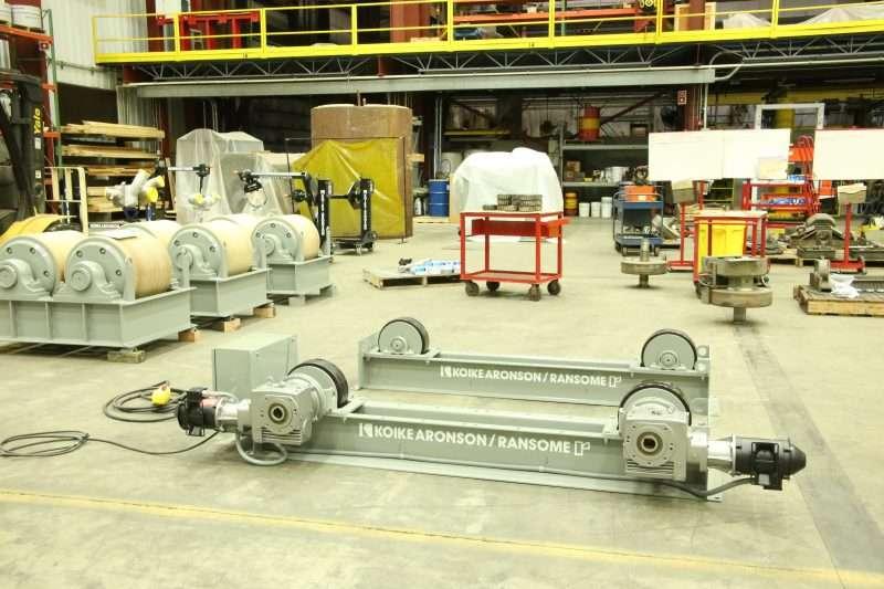 Kioke Aronson 40,000 lb. Medium Duty Turning Roll Set