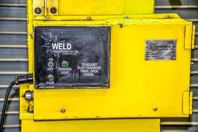 Sub Arc Flux Recovery System by Weld Engineering