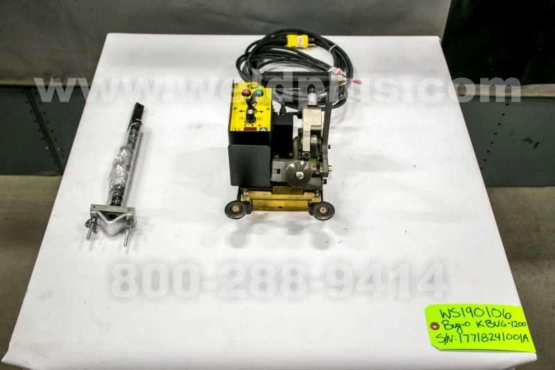 Bug-O KBUG-1200 Gear Driven Fillet Welder