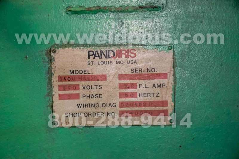 Pandjiris 14 x 14 1400 Series Manipulator