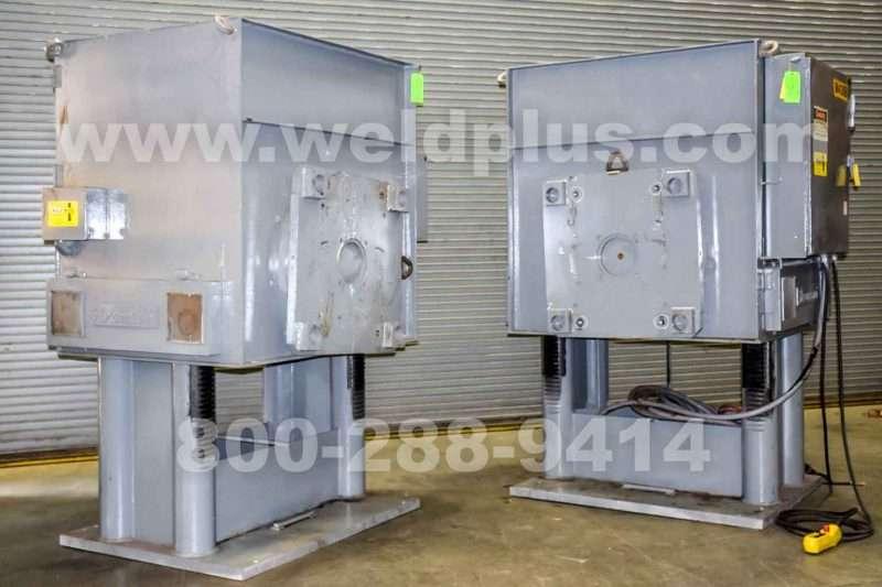 Koike Aronson 20,000 lb. Headstock Tailstock Set