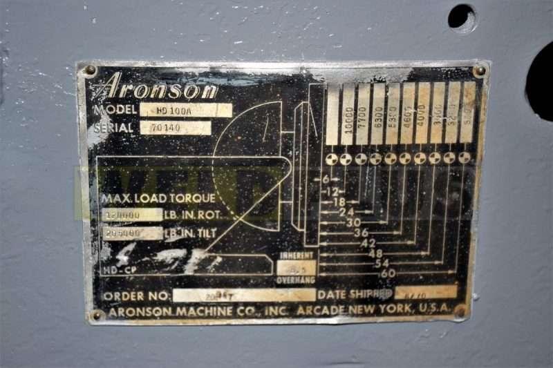 Aronson 10,000 lb Positioner