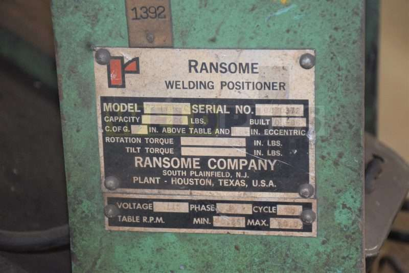 Ransome B2 200 lb Positioner