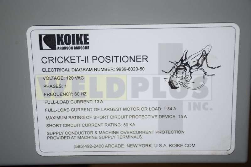 8×8 Koike Aronson Cricket-II Manipulator
