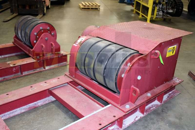 Red-D-Arc 125 Ton Turning Roll Set