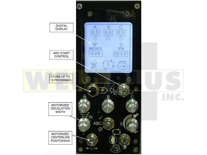 Gullco Radial Weld Oscillator with Dwells
