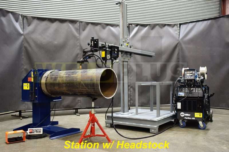 Weld Plus Pipe Welding Station