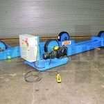 60,000 lb. Irco 45-15 Turning Roll Set
