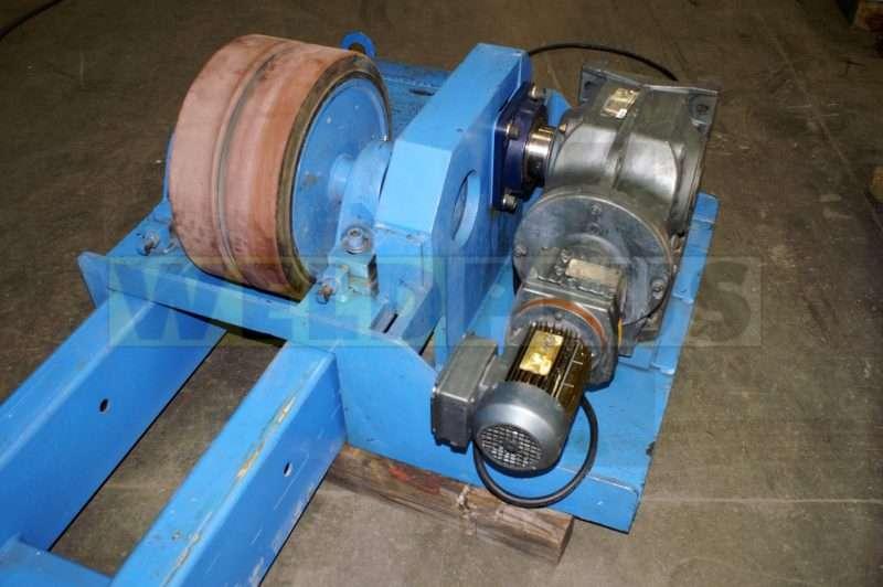 120,000 lb. Irco 90-30 Turning Roll Set