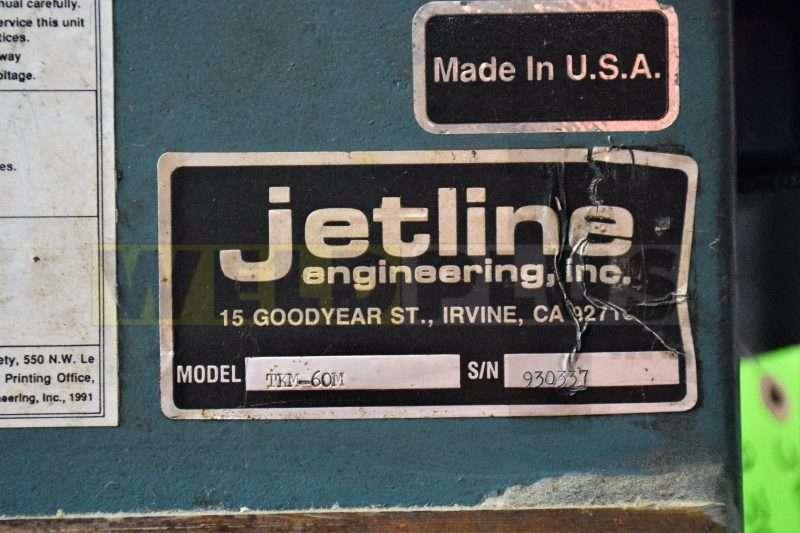 Jetline TKM-60M Side Beam Gantry