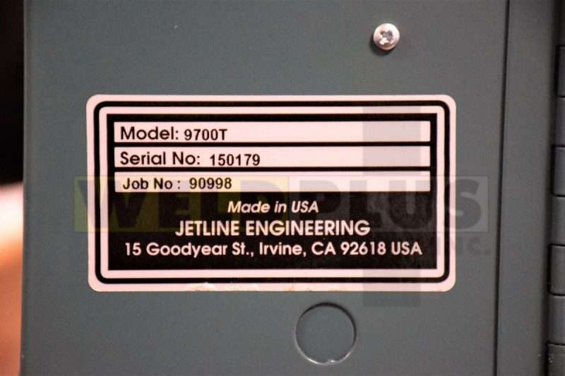 Jetline 9700T Controller