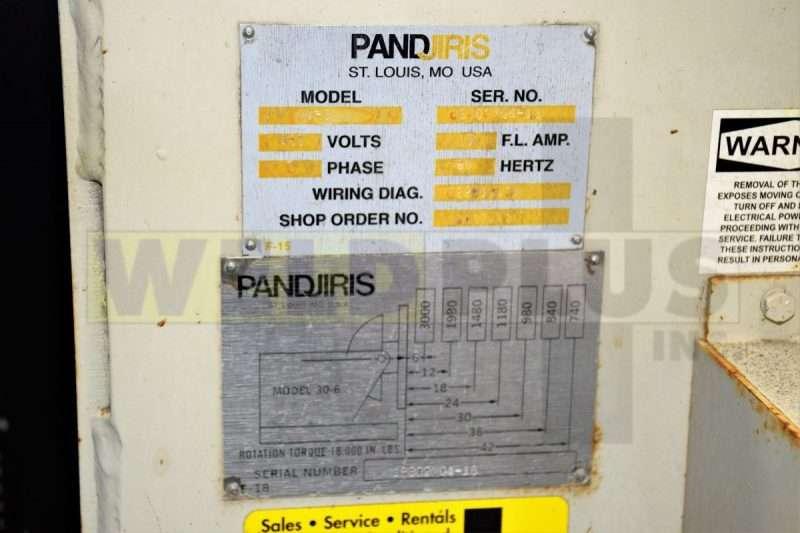 Pandjiris Model 30-6AB Positioner