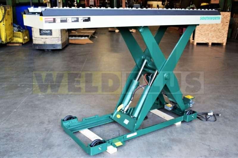 Southworth Scissors Lift Table