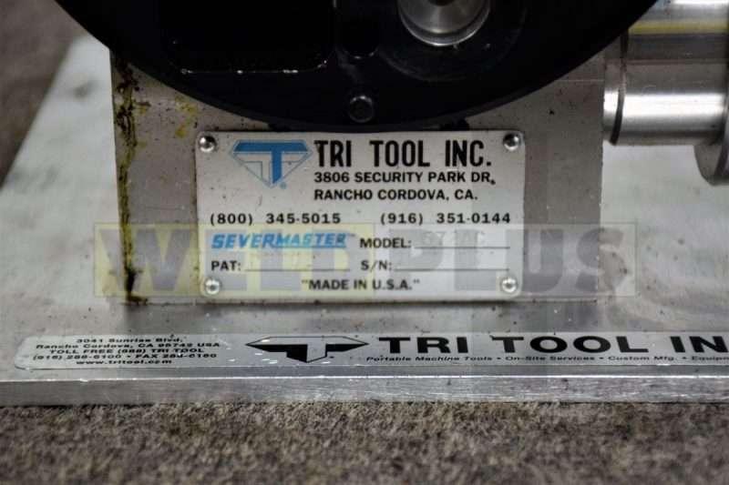 Tri Tool Tube Severing Machine