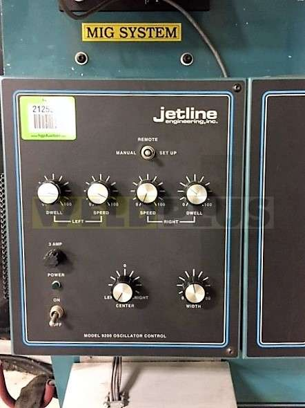 Jetline 6×6 Manipulator and Positioner MIG System