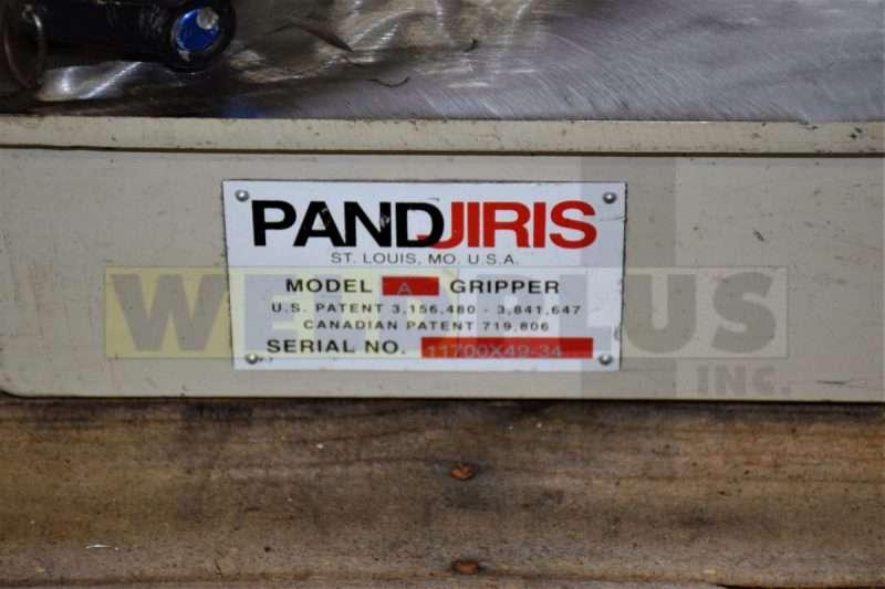 Used Pandjiris 31″ Positioner Chuck