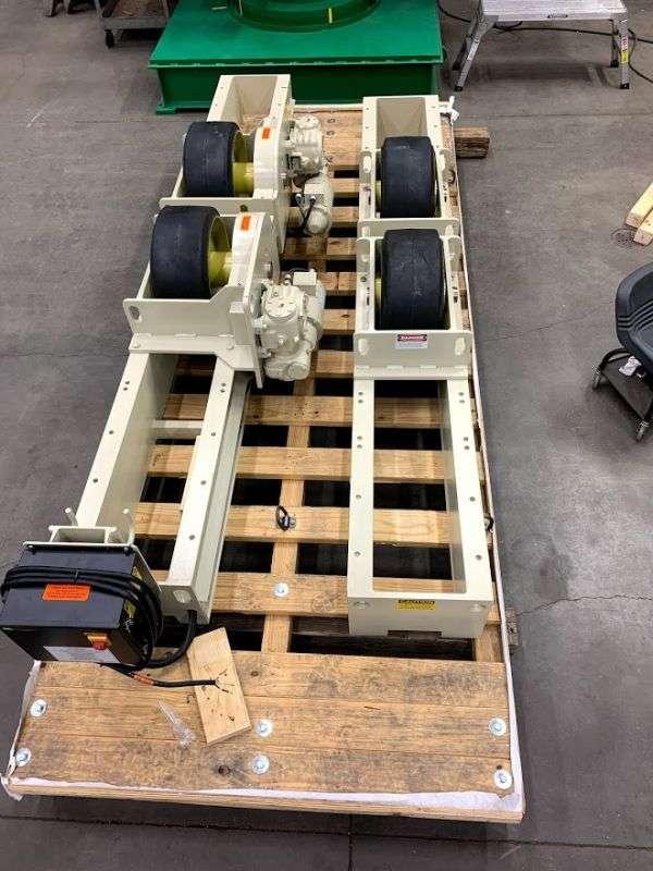 Pandjiris 30 Ton Turning Roll Set