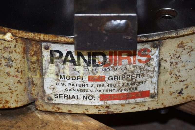 Used TJ 20 Pandjiris Gripper Chuck