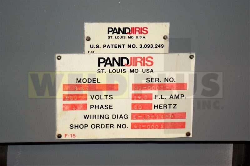 Pandjiris 8×8 Manipulator