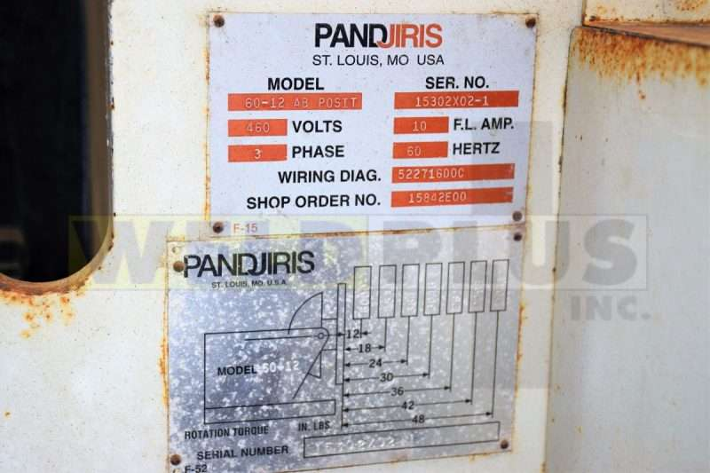 Used 6000 lb PandjirisPositioner