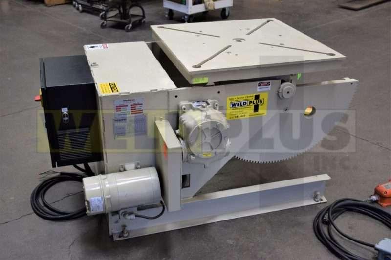 3000 lb Used Pandjiris Welding Positioner