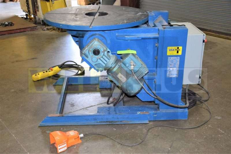 Used Sciaky 5000lb Welding Positioner