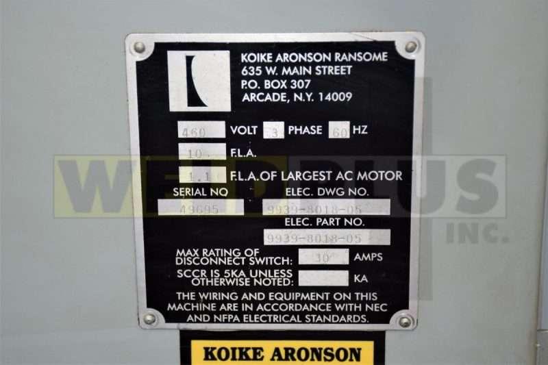 12′ x 8′ Ransome Model 66 Manipulator