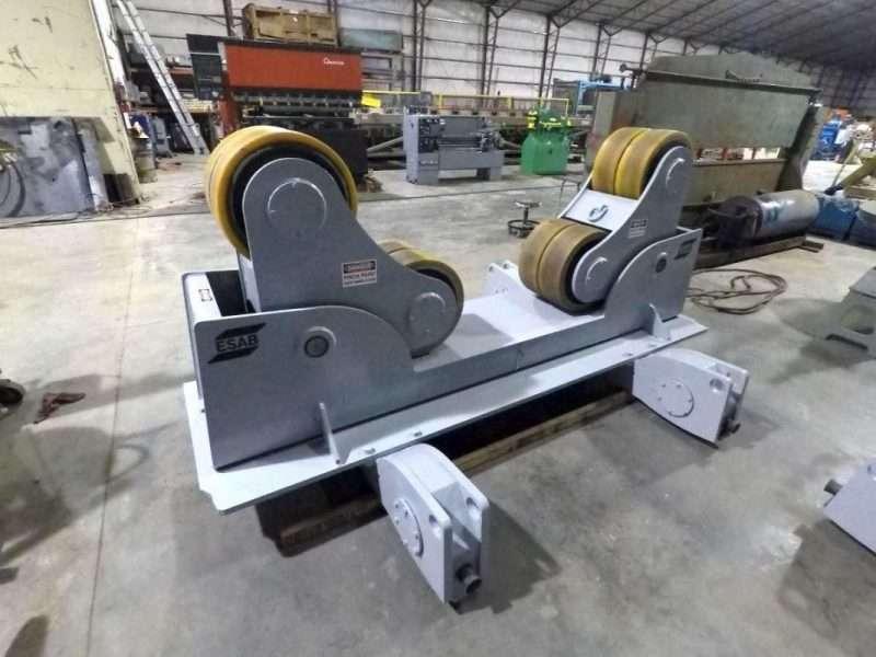 70 Ton ESAB Self Aligning Turning Rolls